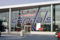 Capitals - Use your large store-front windows to your benefit by increasing the size of your logo and driving traffic through the door.