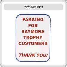 Parking signs - Celebrate an employee or create parking for a special group of customers with our custom parking signs.