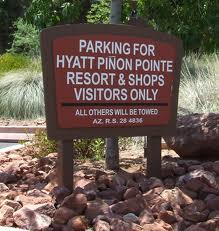 Parking - Signage style and color should contribute to the branding already in place by your business.