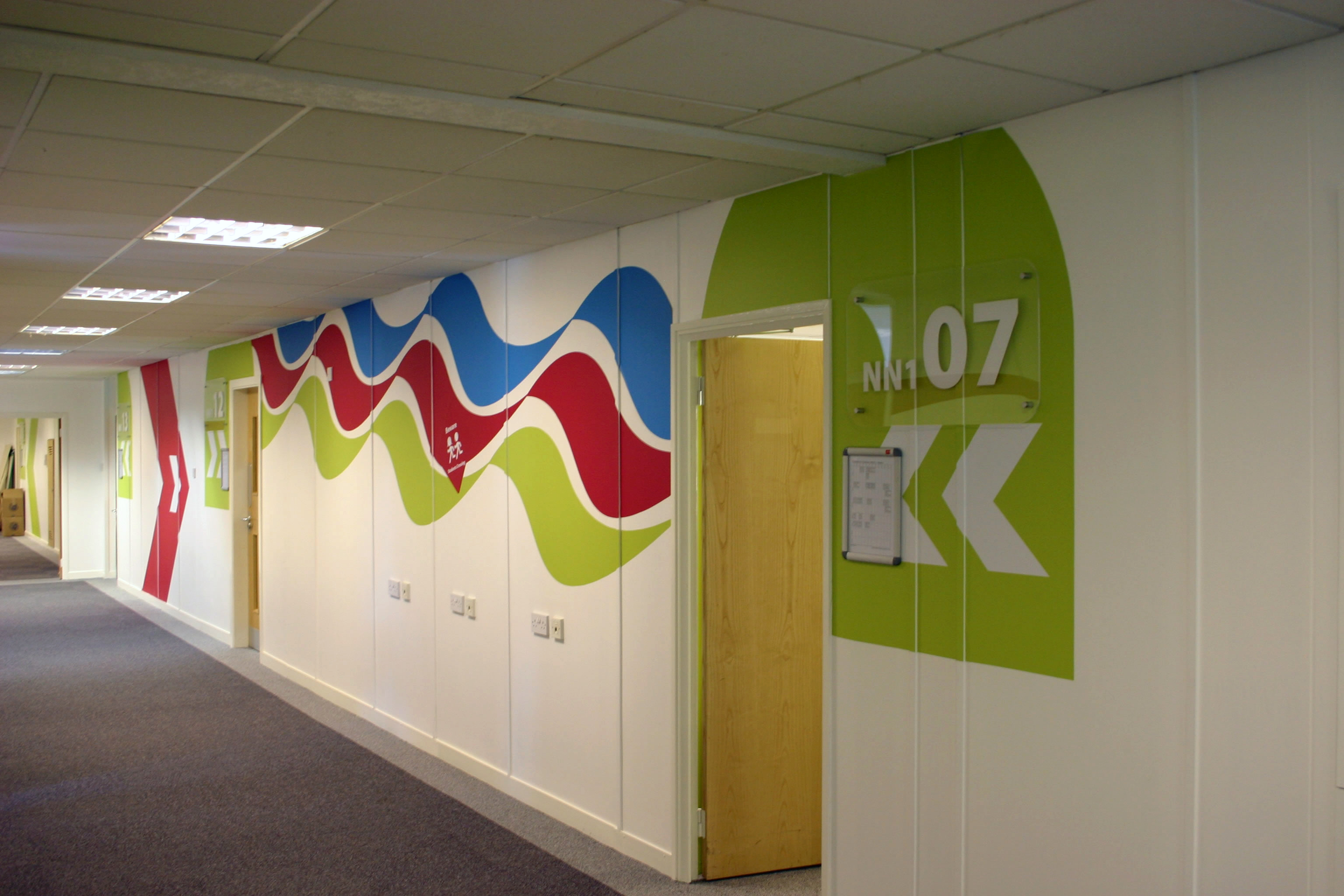 Interior Signage Ideas Gallery Mcneal Graphics