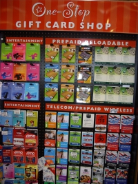 Gift Cards - What we like about this project: A neat, well designed solution for small products.